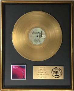 Queen debut RIAA Gold LP Award presented to Queen -