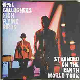 Noel Gallagher's High Flying Birds 2018 Tour Program w/