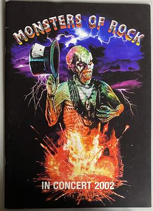 Monsters of Rock 2002 Tour Program