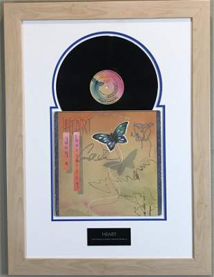 Heart Dog & Butterfly album Ann & Nancy Wilson signed