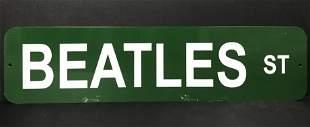 Beatles St Metal Street Sign