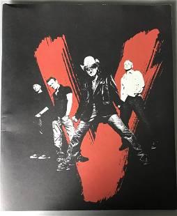 U2 2005 Vertigo Concert Tour Program