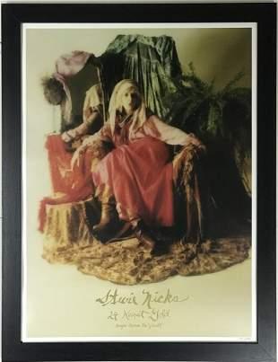 Stevie Nicks '24K Gold' Ltd Edition Poster-Framed