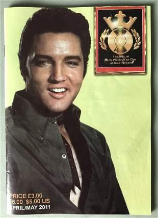 Elvis Presley Official Fan Club of Great Britain Mag