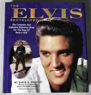 Elvis The Elvis Encyclopedia 1994 Book