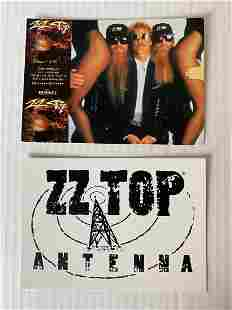 ZZ Top Promo Cards - Two in Lot