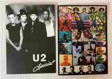 U2 Promo Cards - Two in Lot