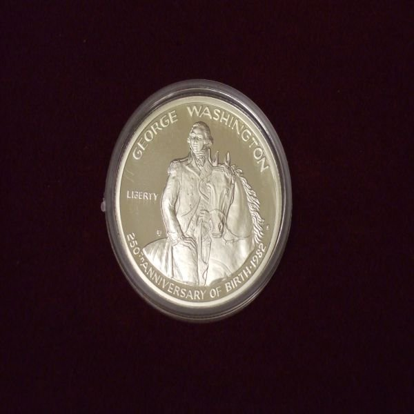 1001: 1982 George Washington Commemorative Half Dollar