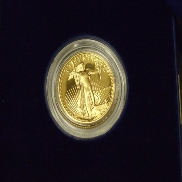 1006: 1988 Proof American Gold Eagle $10.00 piece