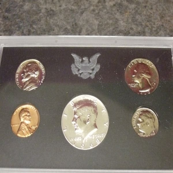 1017: 1968 Proof Set