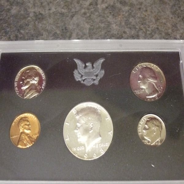 1018: 1968 Proof Set