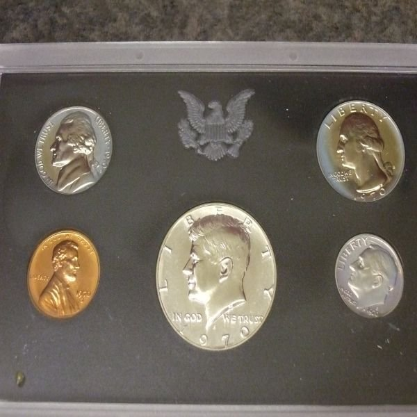 1020: 1970 Proof Set
