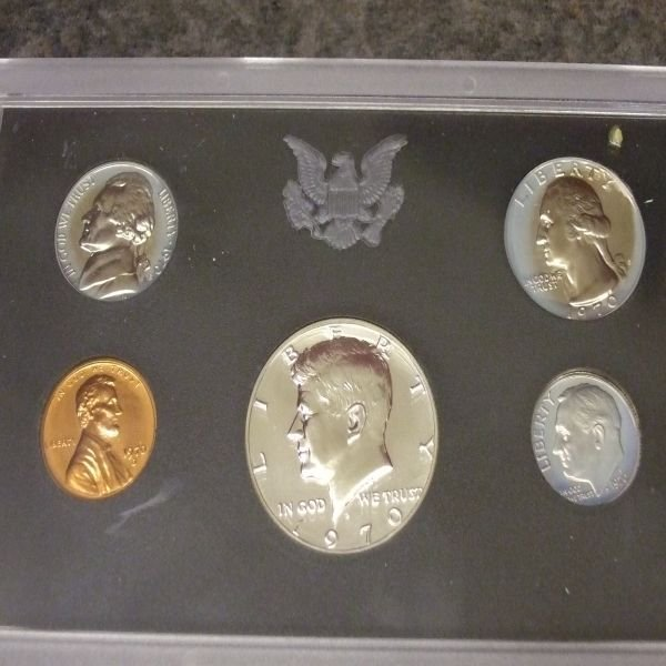 1021: 1970 Proof Set