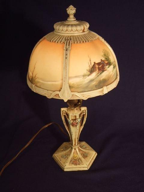 1: Pot Metal Lamp