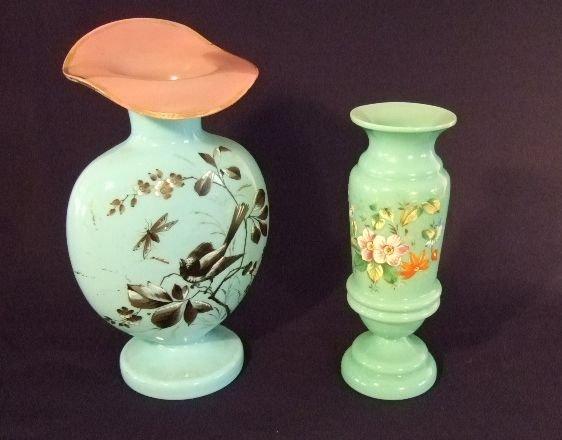 5: Bohemian Vases - lot of 2