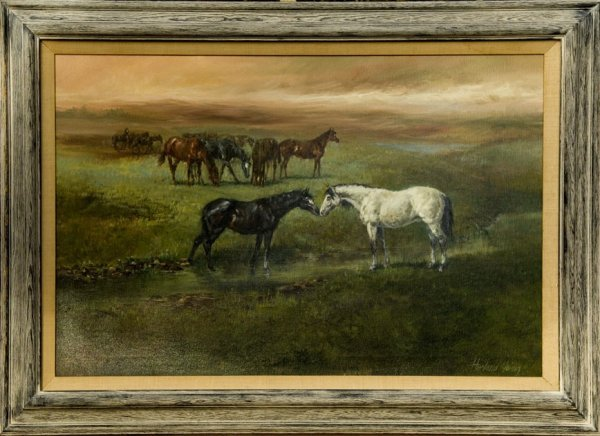 16: Harland Young Original Oil Painting
