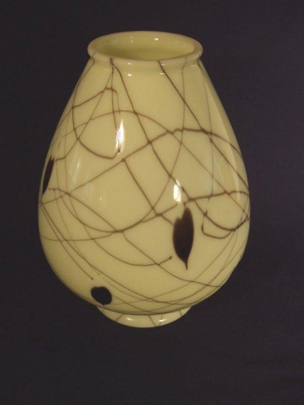 22: Fenton #8 Hanging Heart & Vine Vase