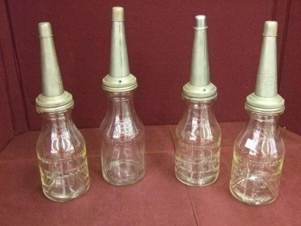 202: Amco Corporation Oil Bottles
