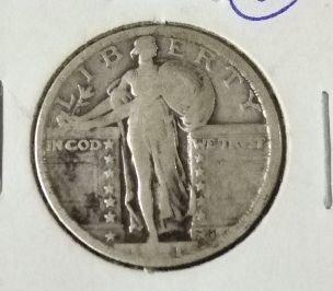 2010: 1921 Standing Liberty Quarter