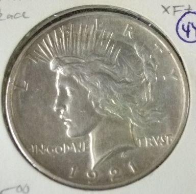 2014: 1921 Peace High Dollar