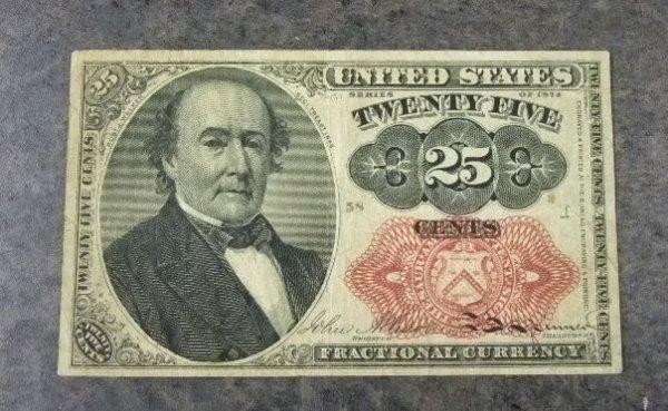 2020: 1874 Twenty-Five Cent Frac Curr