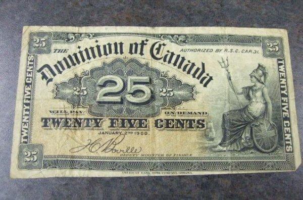 2022: Canadian Twenty-Five Cent