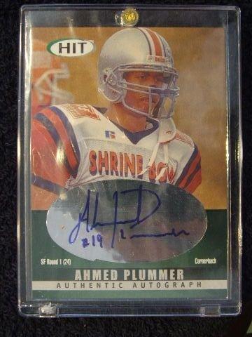 5005: AHMED PLUMMER CARD 2000