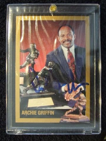 5006: ARCHIE GRIFFIN CARD 1993