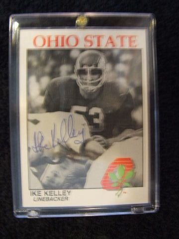 5013: IKE KELLEY CARD
