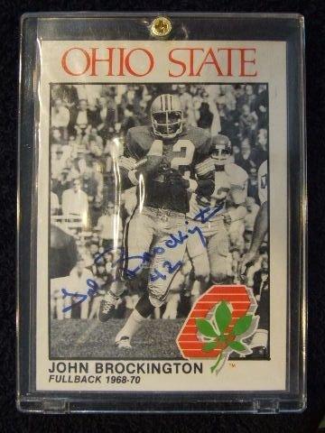 5019: JOHN BROCKINGTON CARD