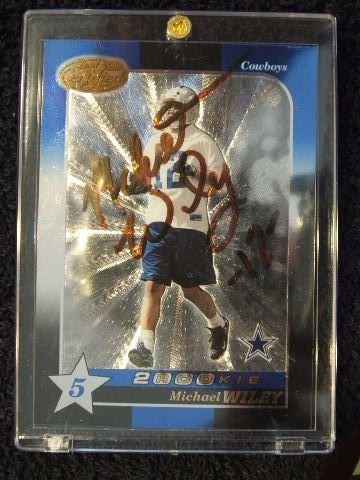 5020: MICHAEL WILEY CARD 2000