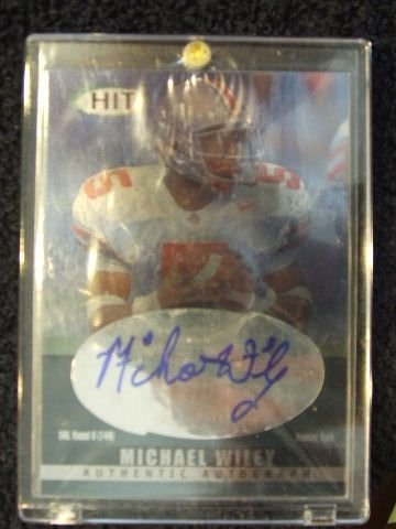 5021: MICHAEL WILEY CARD 2000