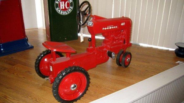 2024: McCormick Farmall Pedal Tractor