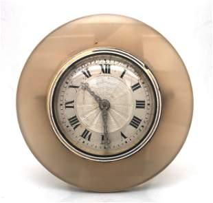 Art Deco Agate Strut Clock