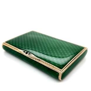 Enamel Green Case