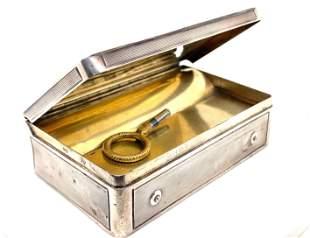 Silver Musical Box