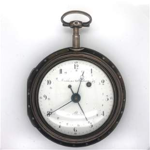 Large Pear Case Watch