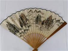 Fine Chinese ink colour Fan Dong Shouping