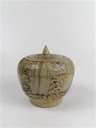 Sino-Annamese porcelain box