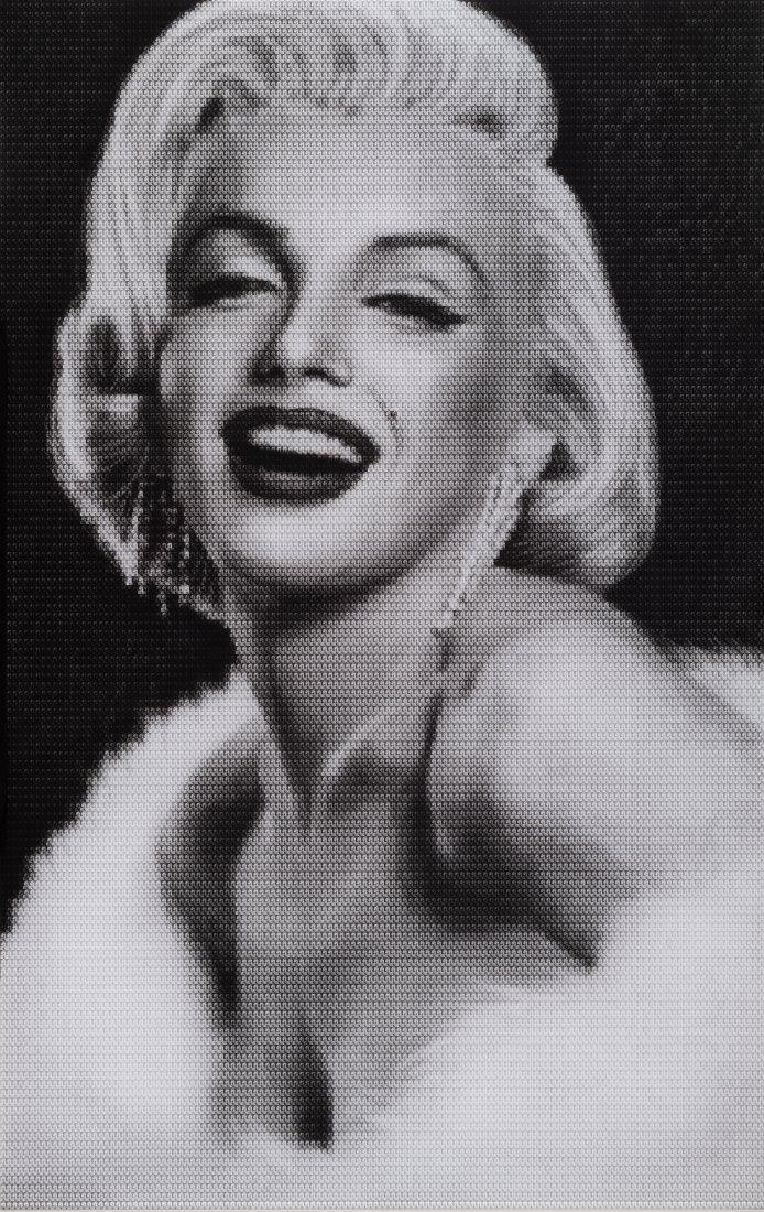 Alex Guefeng Cao (CHI/AM. b.1969) Marilyn vs Brigitte