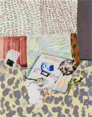 Erika Wastrom (American, b.1984)  Bedside Still Life