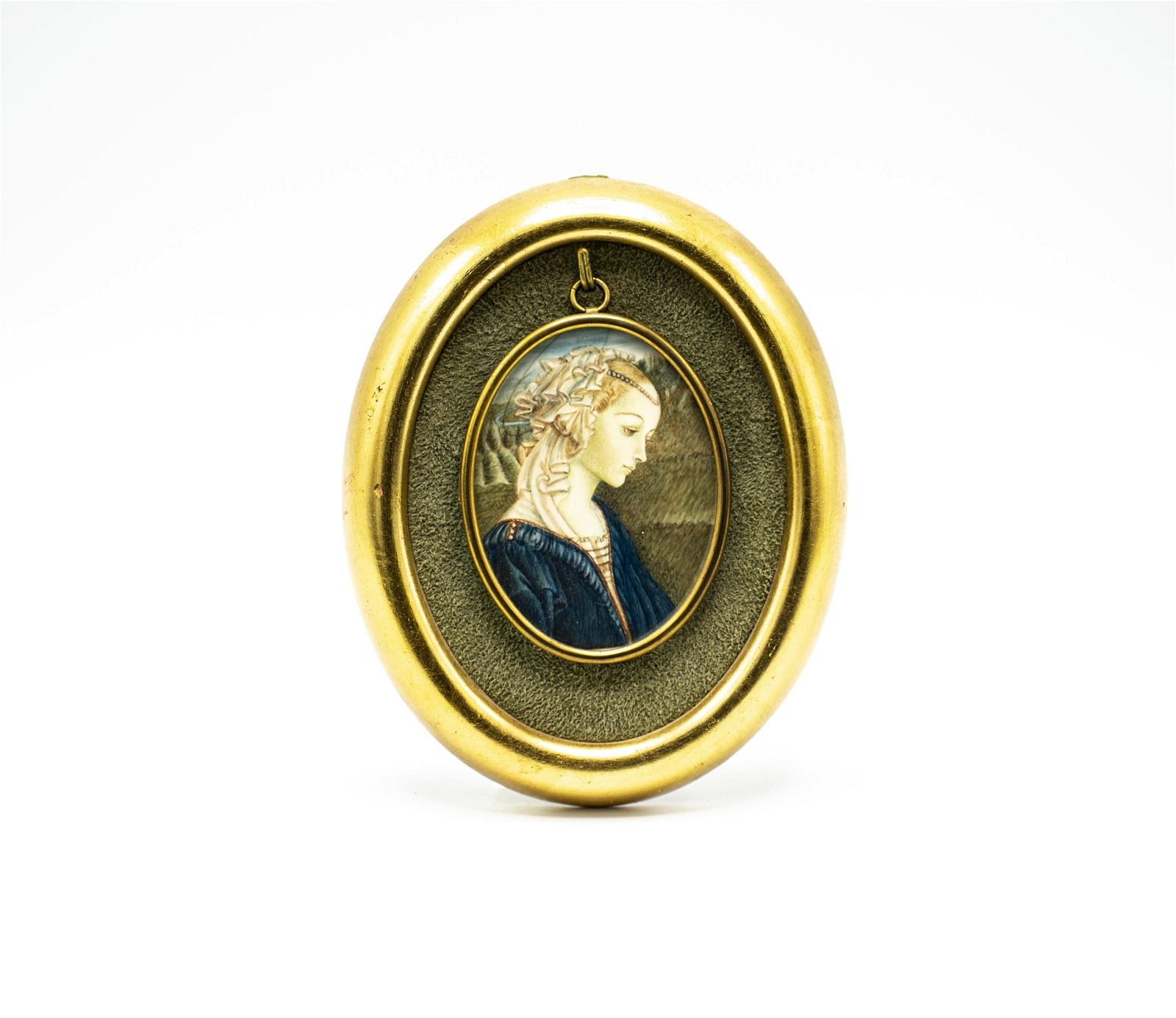 18th-19th Cent Portrait Woman after Fra Filippo Lippi