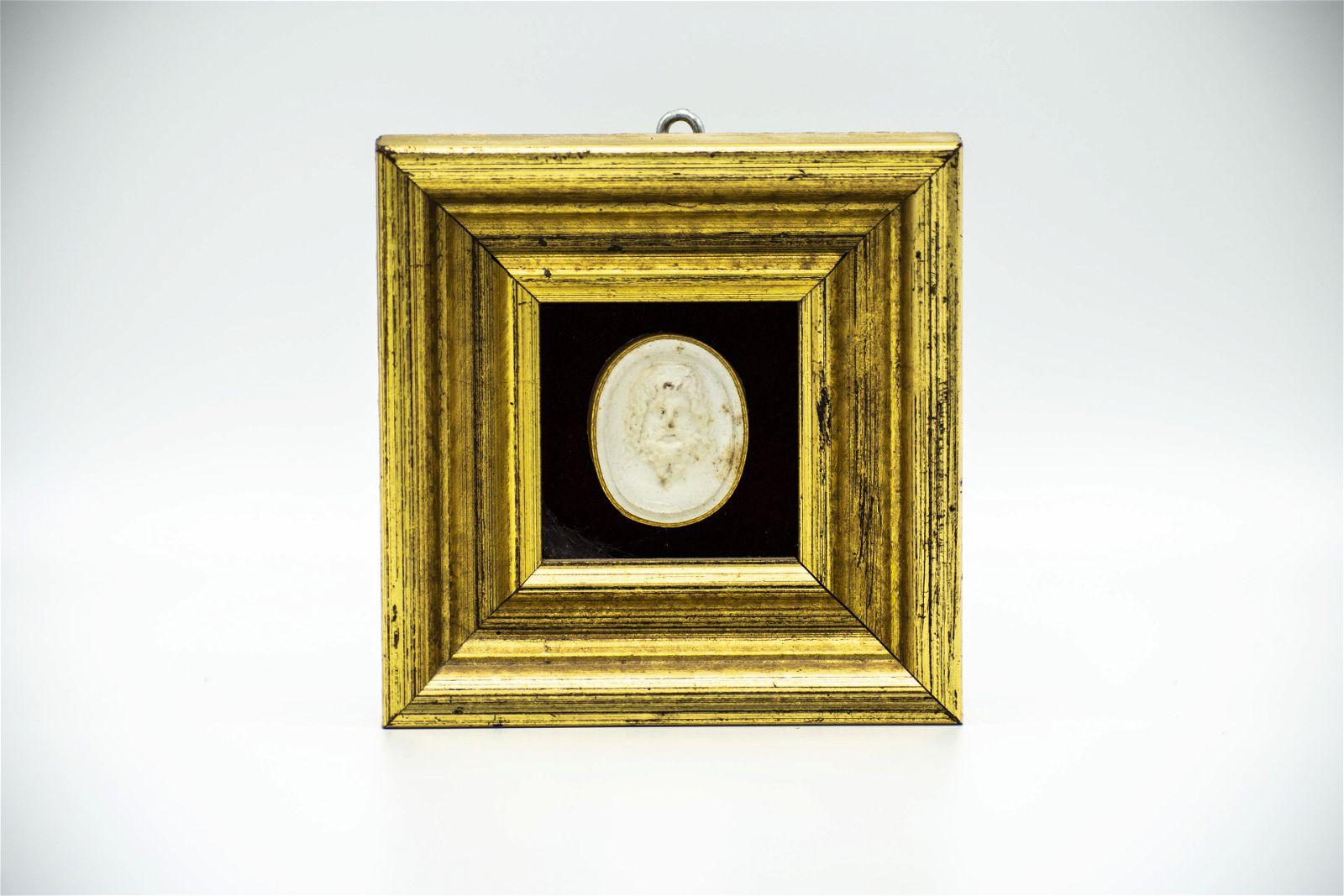 Italian Plaster Intaglio Miniature