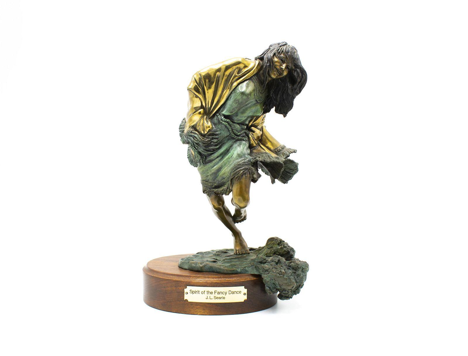 "Bronze Sculpture by Jan Searle, ""Spirit of the Fancy"""