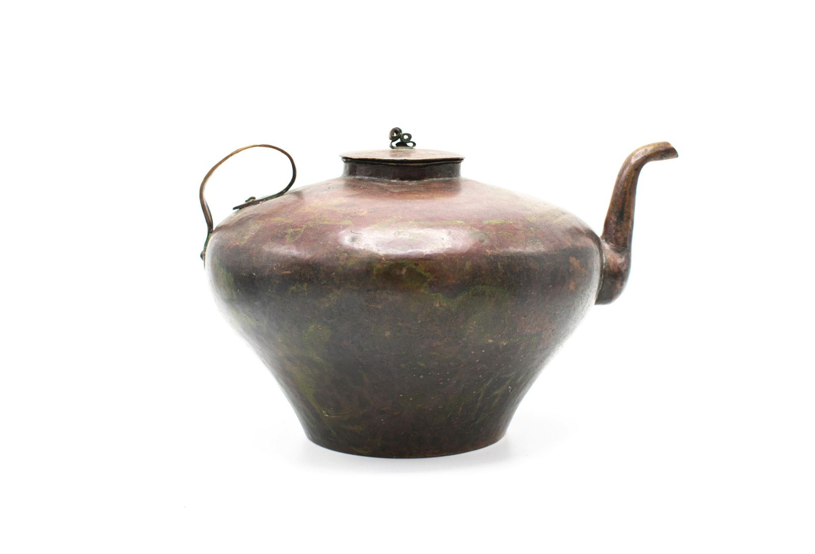 Russian European Copper Teapot