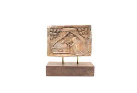 Hearthstone depicting Samson and Delilah