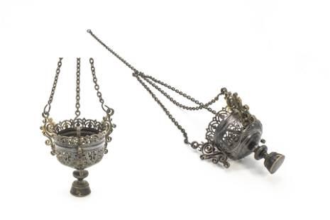Russian Silver Vigil Lamp