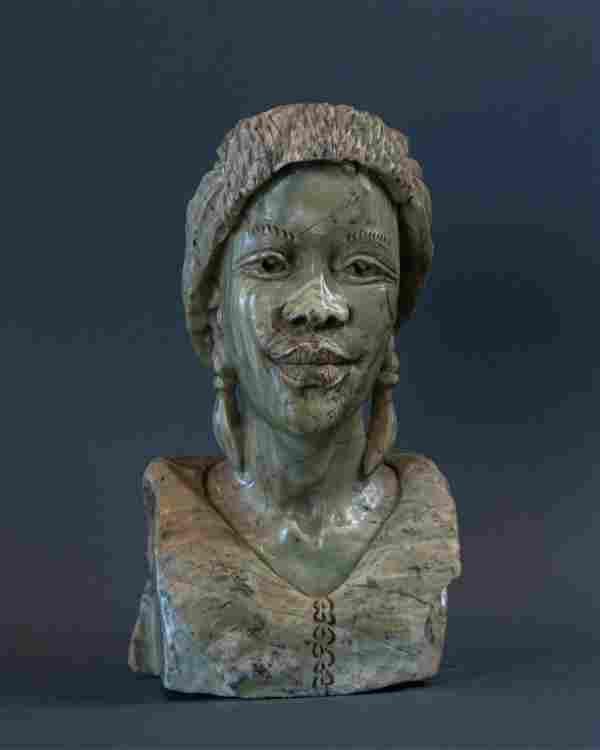 African Shona Women bust