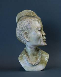African Traditional Zulu Prince bust