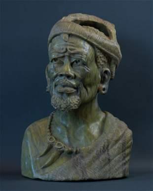 African Xhosa Chieften bust